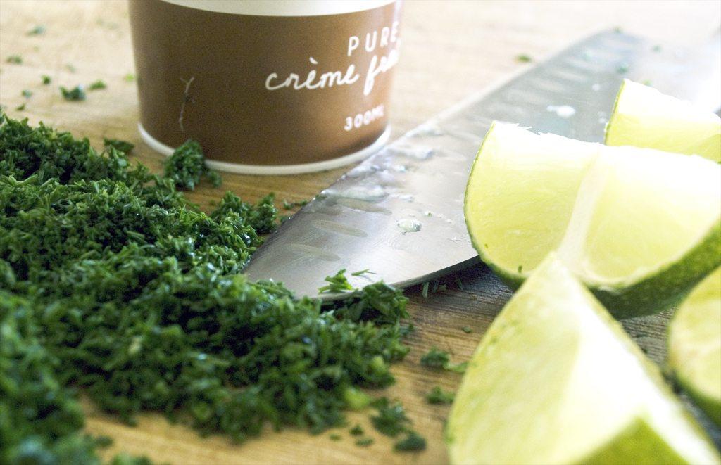 Creme Fraiche, Dill and Lime