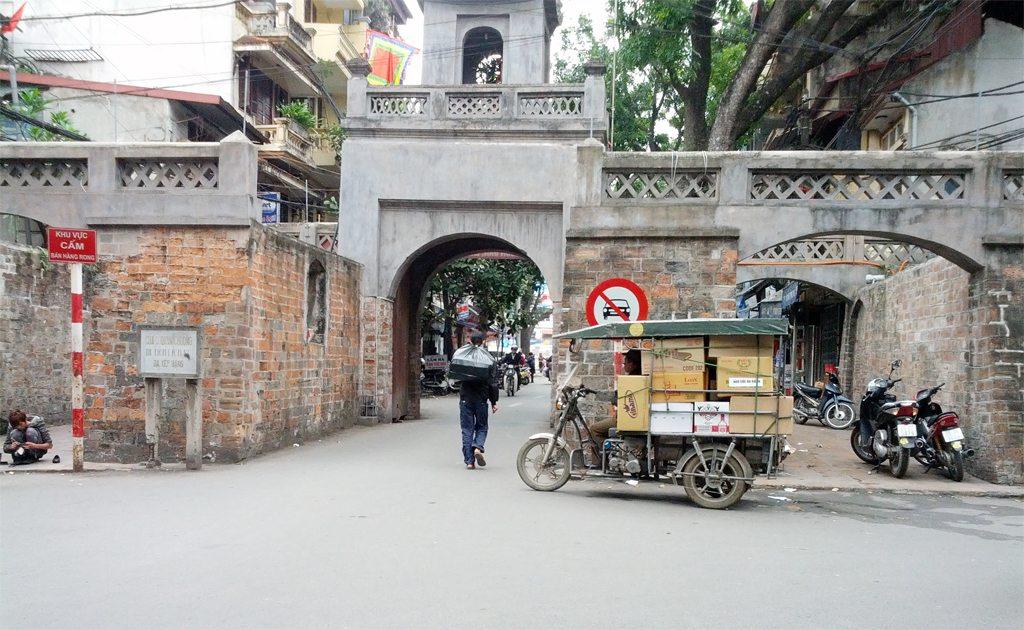 The Old Gate in Hanoi
