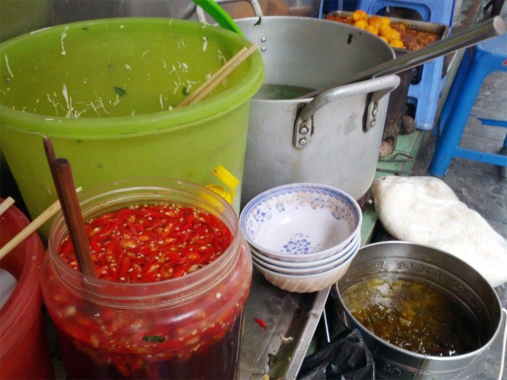 Hot Pickled Chilli in Hanoi