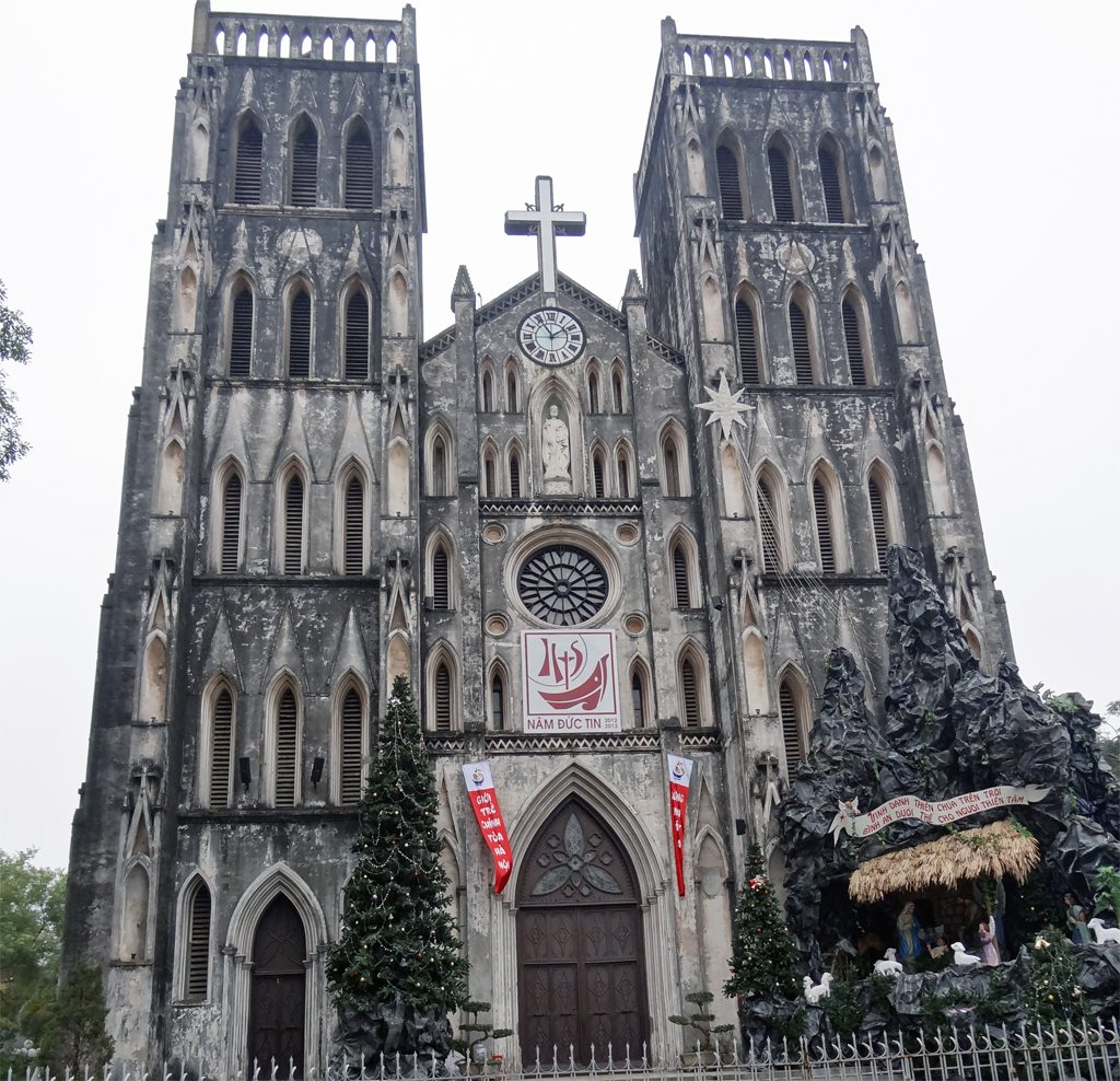St Joseph's Cathedral in Hanoi