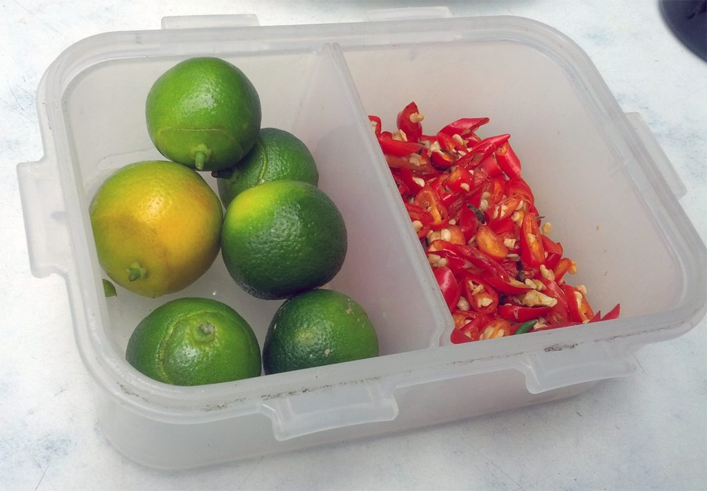 Lime and Chilli Served with Pho
