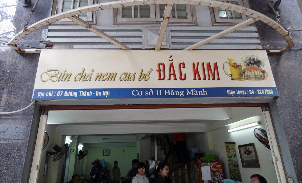 Number 8 - Bun Cha (Dac Kim)