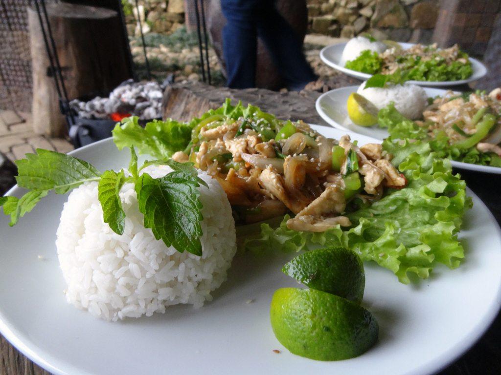 Chicken Lemon Grass and Chilli
