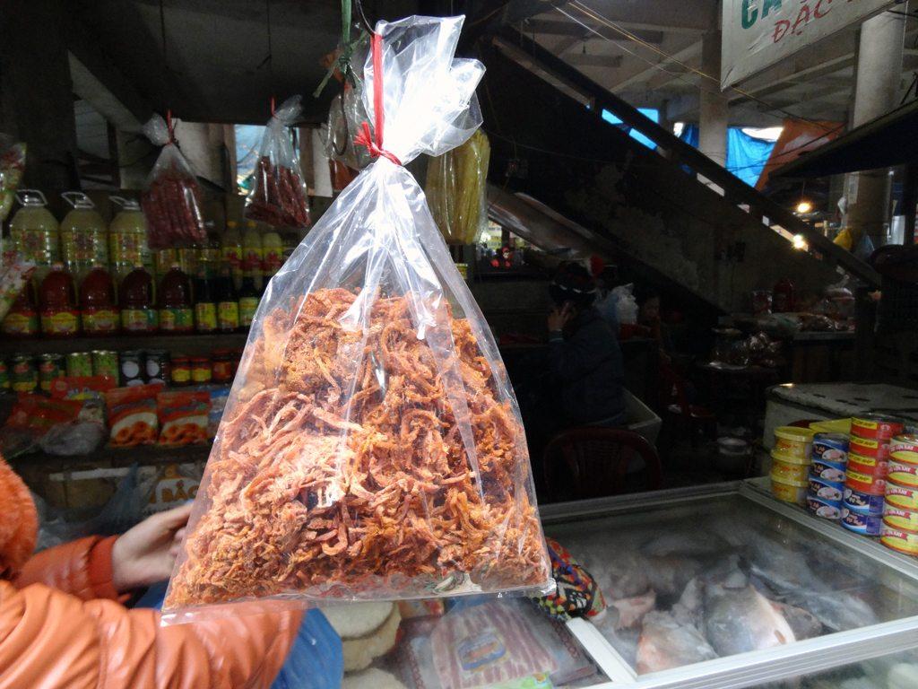 Dried Shrimp at Sapa Market