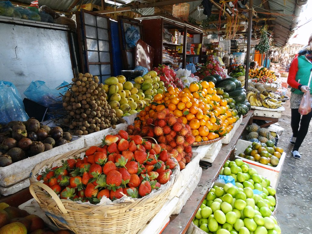Fresh Fruit at Sapa Market