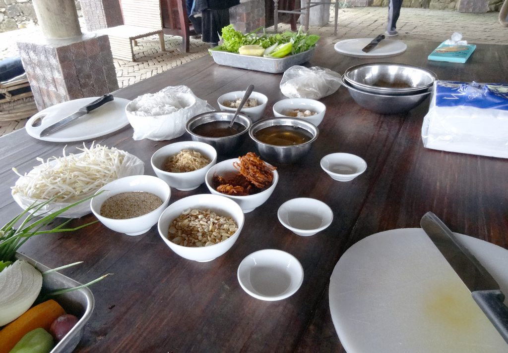 Spices and Sauces for Sapa Cooking Class