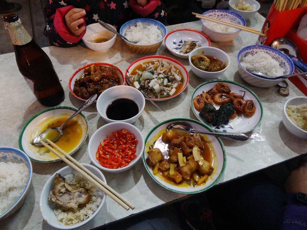 Hanoi Food at Com Que, The Old Quarter