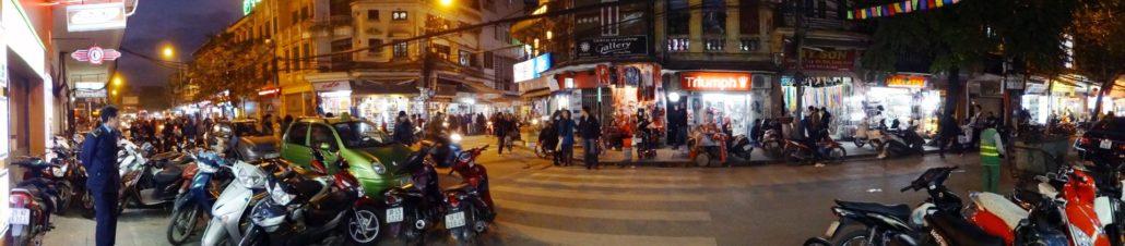 Hanoi Old Quarters at Night