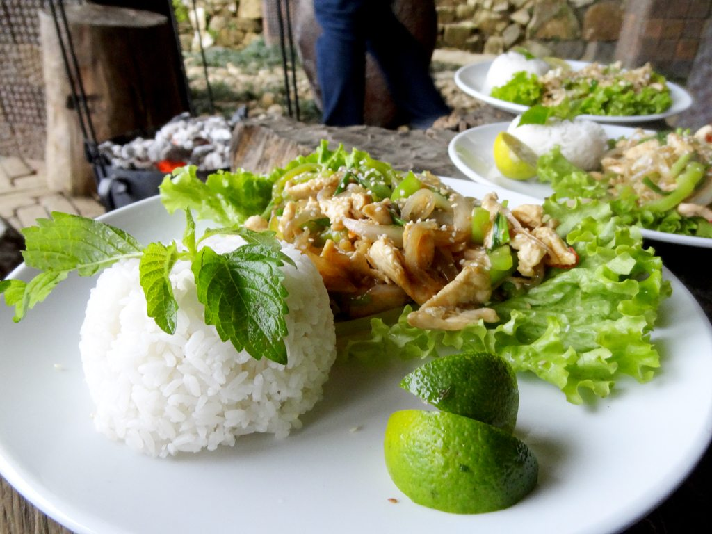 Chilli and Lemongrass Chicken in Sapa