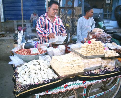 India Roadside Food
