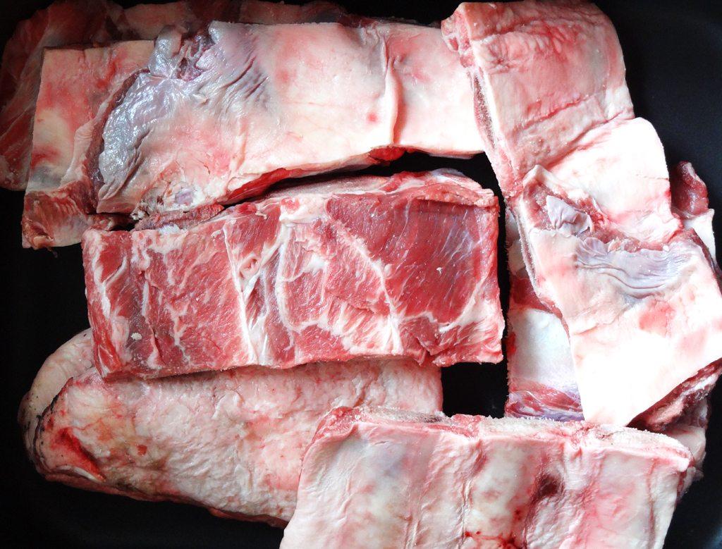 Veal bones