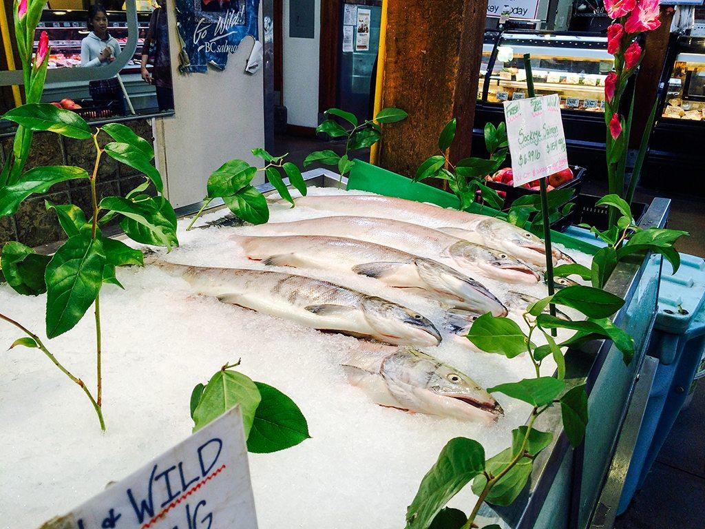 Granville Island Sockeye Salmon