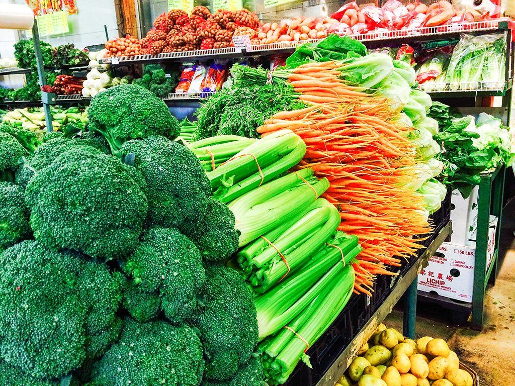 Granville Island Vegetables