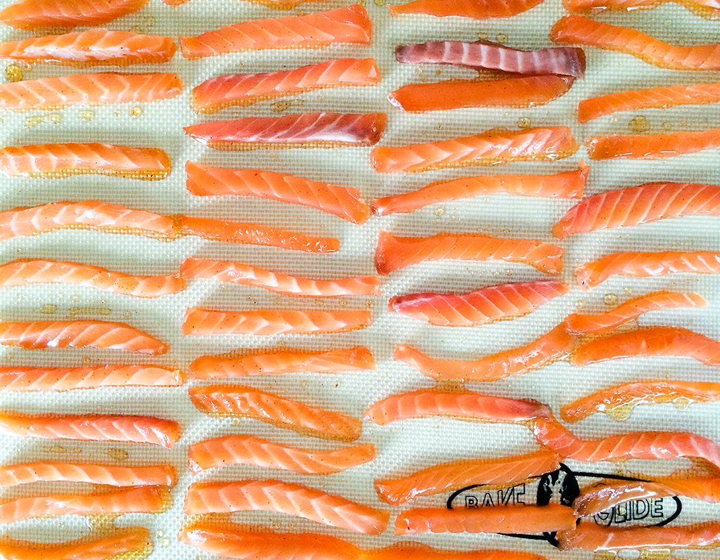 Salmon Jerky Strips 2