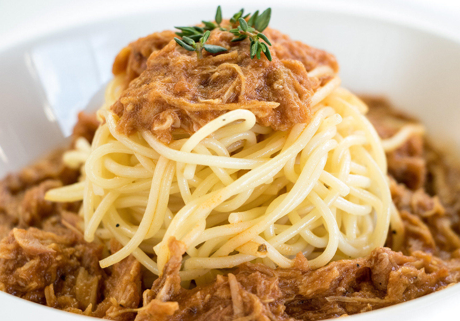 Rabbit Bolognese with Thyme