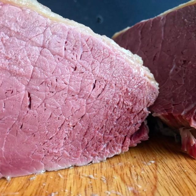 Silverside brined for 4 days and then poached in spicedhellip